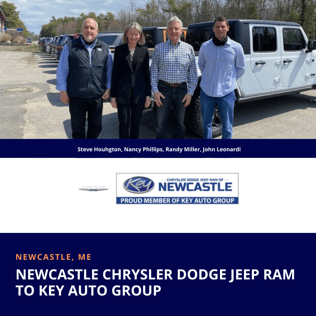 Newcastle Chrysler Dodge Jeep Ram Sold to Key Auto Group